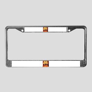'Wolverhampton Punx' License Plate Frame