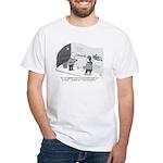 Professor of Graffiti White T-Shirt
