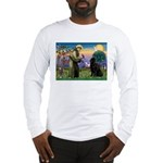 Saint Francis' Newfie Long Sleeve T-Shirt