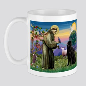 Saint Francis' Newfie Mug
