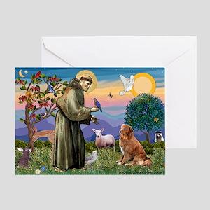 St Francis & Nova Scotia Greeting Card