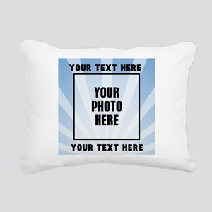 Personalized Sports Rectangular Canvas Pillow