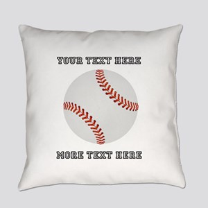 Personalized Baseball Everyday Pillow