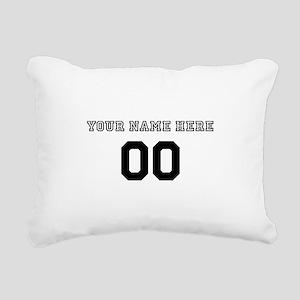 Personalized Baseball Rectangular Canvas Pillow