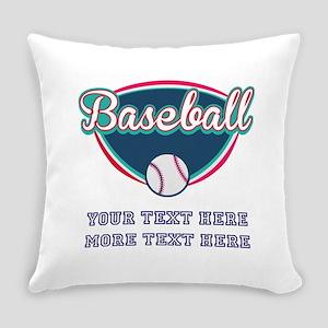 Custom Baseball Fan Everyday Pillow