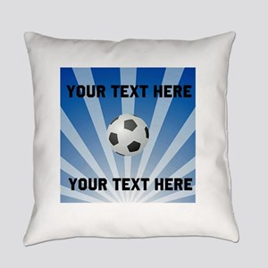 Personalized Soccer Everyday Pillow