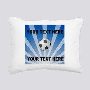 Personalized Soccer Rectangular Canvas Pillow