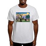 Saint Francis & Two Pugs Light T-Shirt