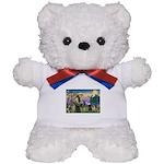 Saint Francis & Two Pugs Teddy Bear