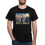 St Francis / Rottweiler Dark T-Shirt