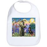 St Francis / Rottweiler Bib