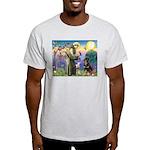 St Francis / Rottweiler Light T-Shirt
