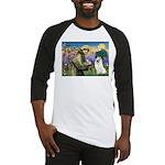 St Francis & Samoyed Baseball Jersey