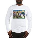 St Francis & Samoyed Long Sleeve T-Shirt