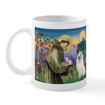 St Francis & Samoyed Mug