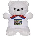 St Francis & Samoyed Teddy Bear