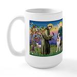 St. Francis/ St. Bernard Large Mug