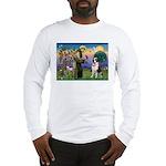 St. Francis/ St. Bernard Long Sleeve T-Shirt
