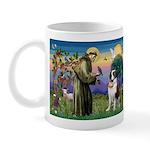 St. Francis/ St. Bernard Mug