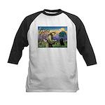 St Francis / Schipperke Kids Baseball Jersey