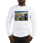 St Francis / Schipperke Long Sleeve T-Shirt