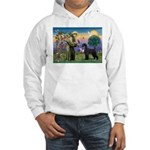 St. Francis & Giant Schnauzer Hooded Sweatshirt