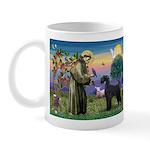St. Francis & Giant Schnauzer Mug