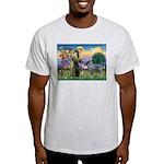 St Francis PS Giant Schnauzer Light T-Shirt
