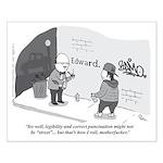 Professor of Graffiti Small Poster