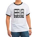 Crush Logo Ringer T T-Shirt
