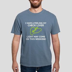 Check Liver Light Women's Dark T-Shirt