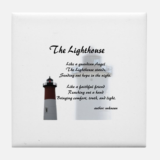 Funny Lighthouses Tile Coaster