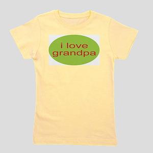 i love granpa, grandpa T-Shirt