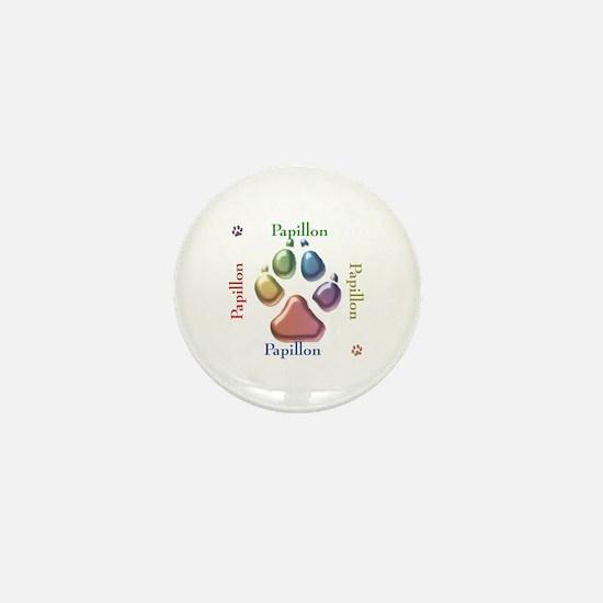 Papillon Name2 Mini Button