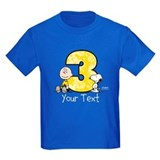 Snoopy and woodstock Kids T-shirts (Dark)