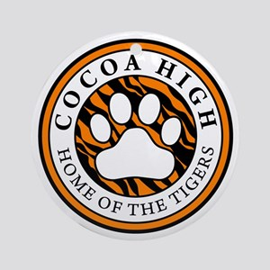 Home of the Tigers Ornament (Round)