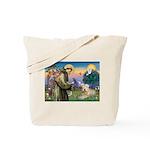 St Francis & Wheaten Tote Bag