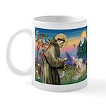 St Francis & Wheaten Terrier Mug