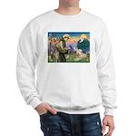 St. Francis & Wheaten Terrier Sweatshirt