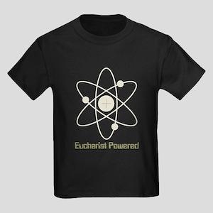 Eucharist Powered Kids Dark T-Shirt