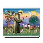 St Francis / Whippet Mousepad