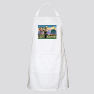 St Francis / Whippet BBQ Apron