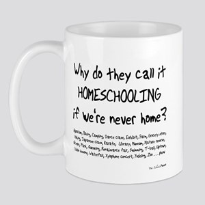 Never Home Mug