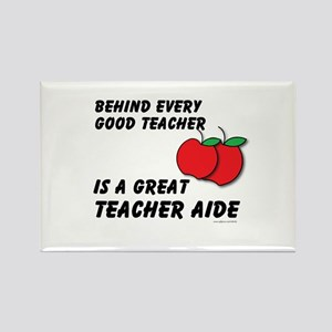 Great Teacher Aide Rectangle Magnet