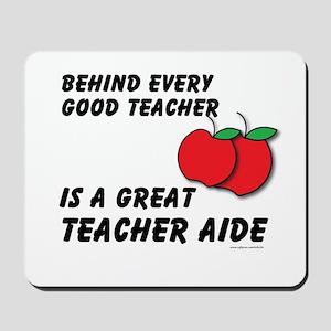 Great Teacher Aide Mousepad