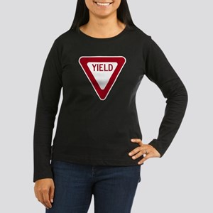 Yield Women's Long Sleeve Dark T-Shirt