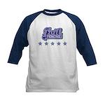 Foil Fencing Kids Baseball Jersey