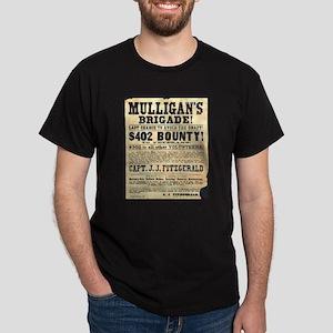 Mulligan's Brigade! Dark T-Shirt