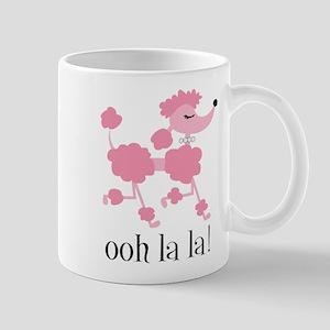 ooh la la poodle Mugs