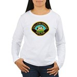 Stallion Springs Police Women's Long Sleeve T-Shir